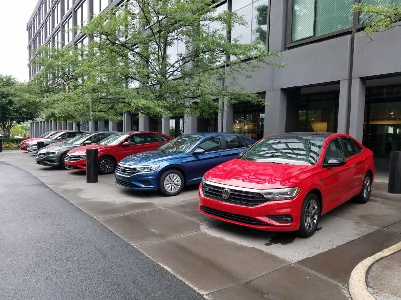 2019 VW Jetta Line Up