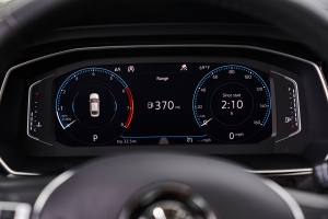 2019 VW Jetta dash display
