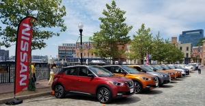 Nissan Kicks at Fells Point in Baltimore MD