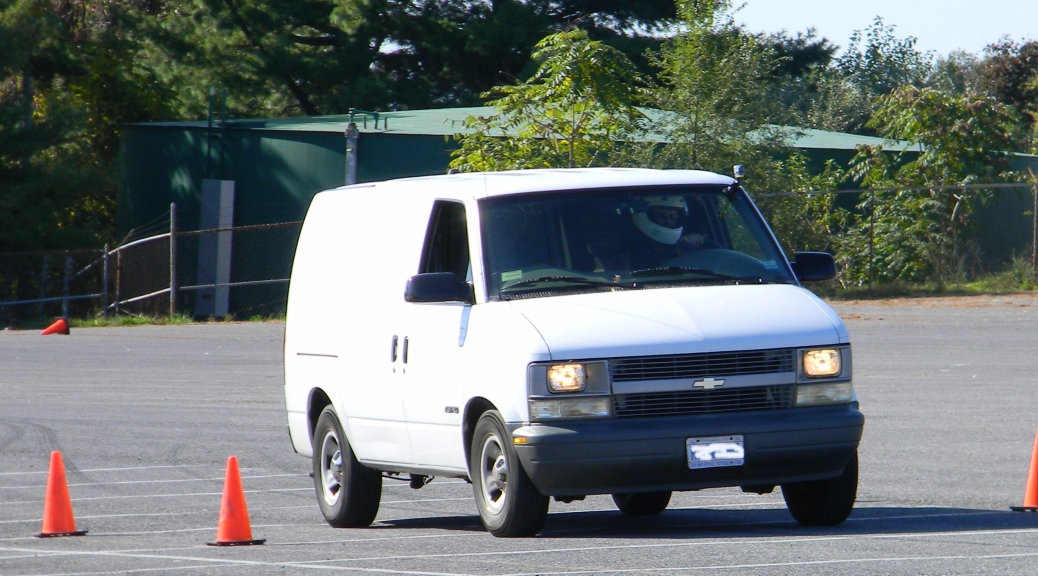 Autocrossing the Chevy Astro Cargo Van