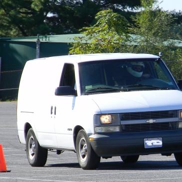 Autocrossing the Chevy Astro Cargo Van