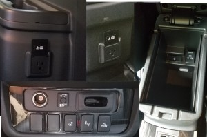 Power Outlets on the Mitsubishi Outlander