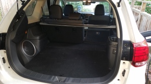 Mitsubishi Outlander 63 cubic Feet of Cargo