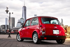 Mini made up a prototype of a classic powered by all electric