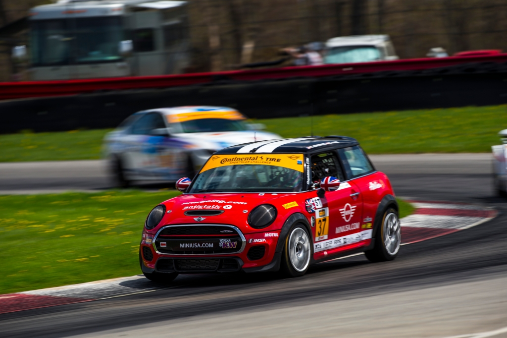 LAP Motorsports takes the MINI to the track in the USA.