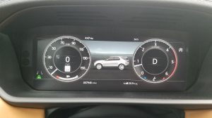 Land Rover Discovery Digital Dash