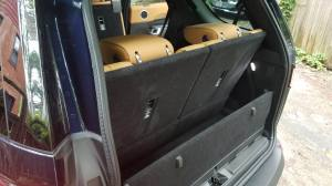 land rover discovery 3rd row seats up