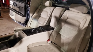 Rear Seats in the Lincoln Continental Coach Door Edition