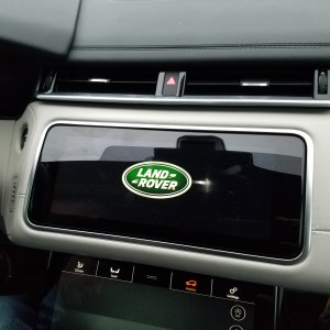 Land Rover logo in the Velar