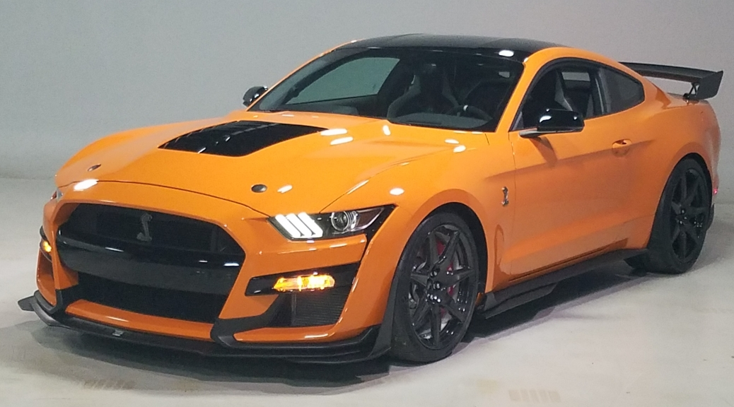 2020 Ford Mustang Shelby Cobra GT500 in Twister Orange