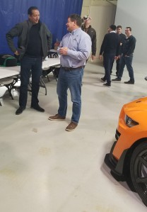 ford mustang desgner betancourt and marketing manager owens