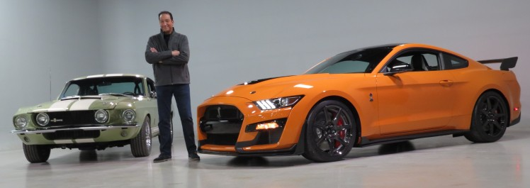 melvin betancourt with ford mustang cobra