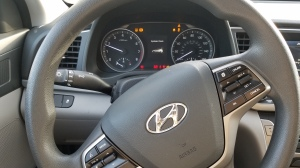 Hyundai Elantra Dash