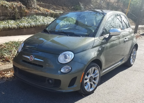 2018 Fiat 500 Lounge Turbo Hatchback
