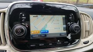 Fiat 500 TomTom GPS