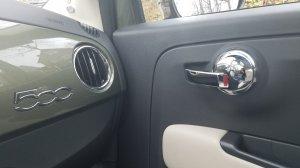 Fiat 500 Lounge Interior