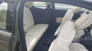 Fiat 500 Lounge Rear Seat Entry