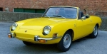 72 Fiat 850 Spider in Yellow courtesy of Hemmings Motor News