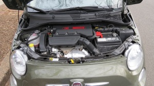 Fiat 500 Turbo 1.4 liter engine
