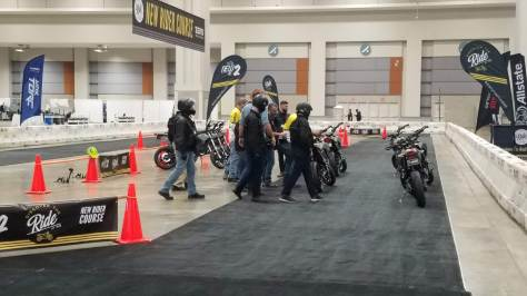Discover The Ride Gives new riders a chance to try out riding motorcycles