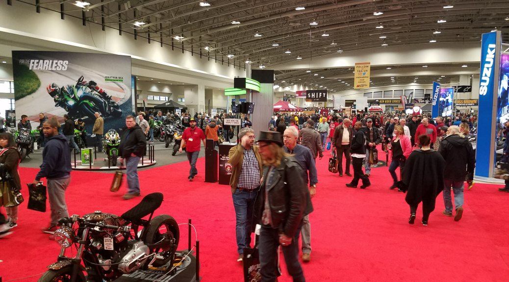 Progressive Motorcycle Show DC Show Floor