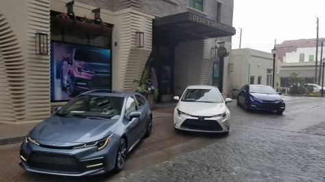 2020 Toyota Corolla comes in L, LE, SE, XLE and XSE Trim levels at the Perry Lane Hotel in Savannah GA.
