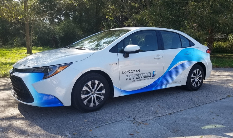 2020 Toyota Corolla offers a Hybrid variant