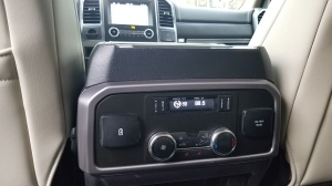 Ford Expedition 2nd row hvac controls and power