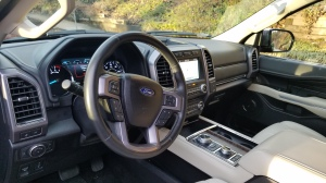 Cockpit of the Ford Expedition