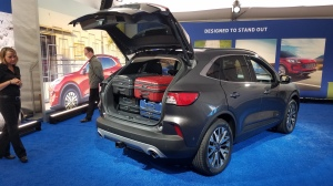 2020 Ford Escape has plenty of room for luggage