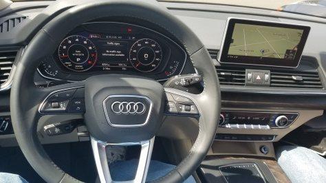 2018 Audi Q 5 Dashboard
