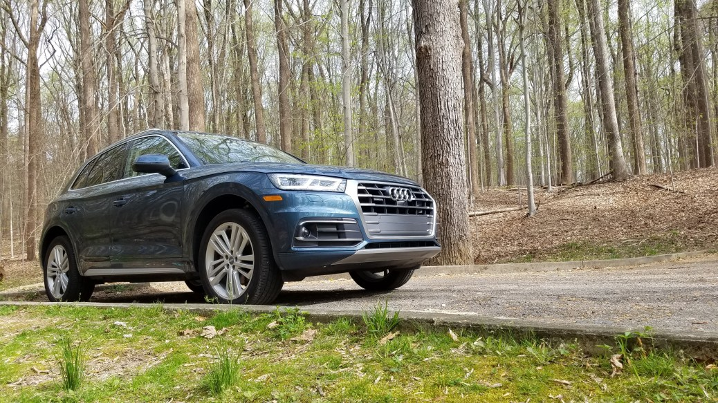 2018 Audi Q5 in Rock Creek Park Washington DC