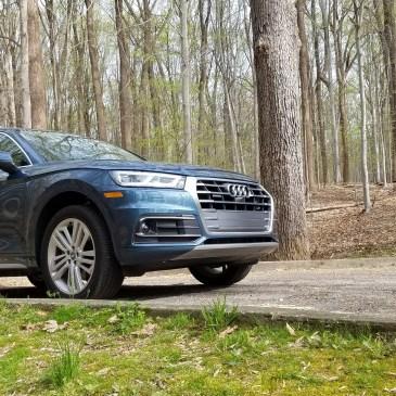 2018 Audi Q5 in Rock Creek Park Washington DC