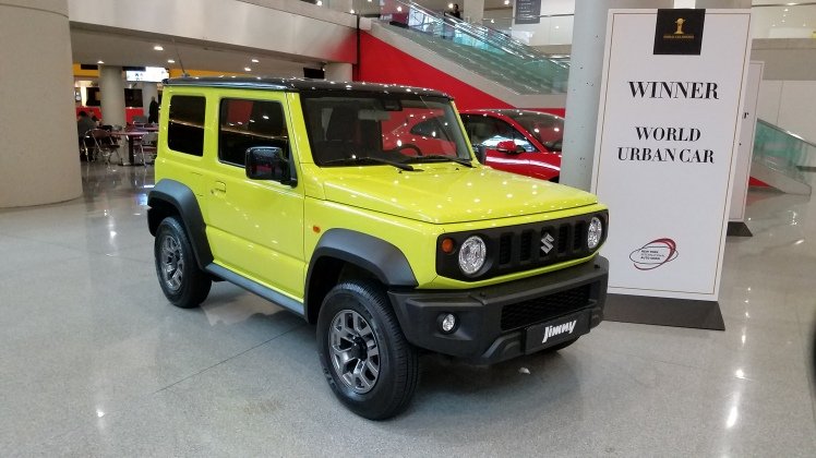 The Suzuki Jimny takes the Gold at the World Car of the Year Awards for World Urban Car 2019