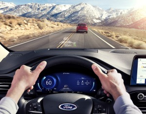 2020 Ford Escape HeadsUp Display