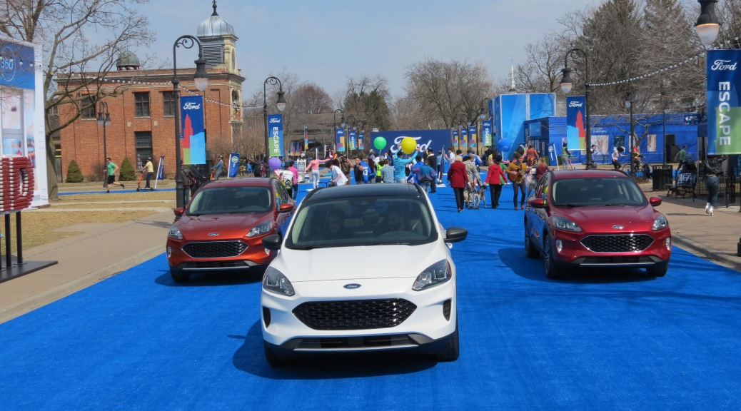 2020 Ford Escape at Greenfield Village