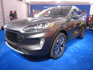 2020 Ford Escape Front Headlamps and Grill