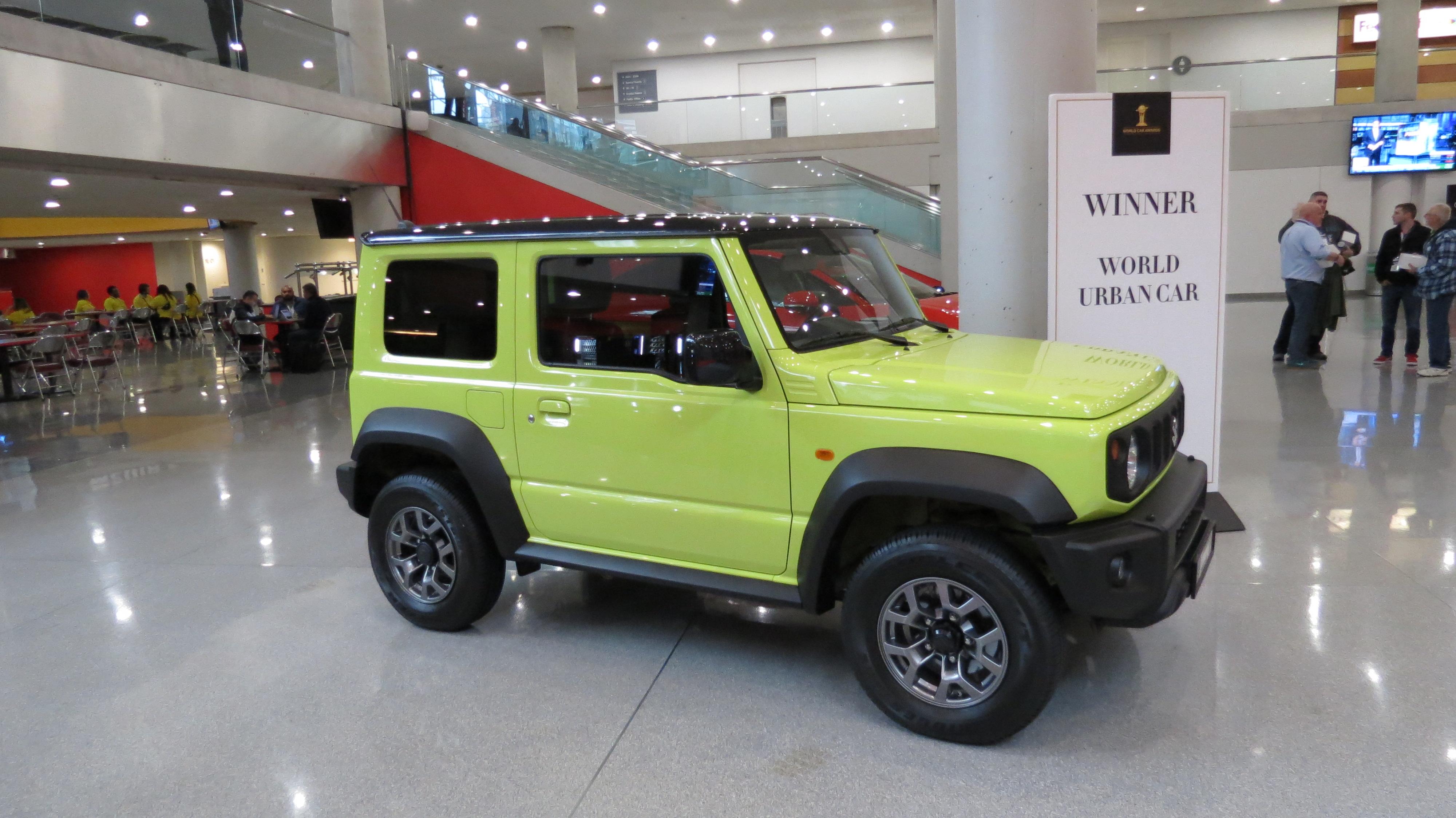 2019 World Urban Car Award Winner the Suzuki Jimny