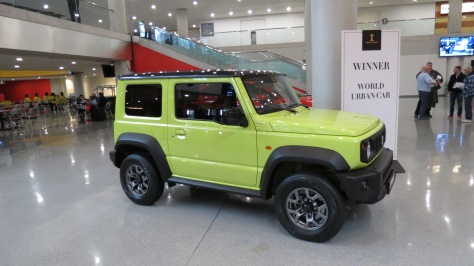 2019 World Urban Car Award Winner the Suzuki Jimny