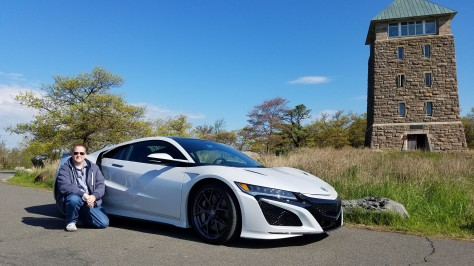 Officer Matt and the 2019 Acura NSX