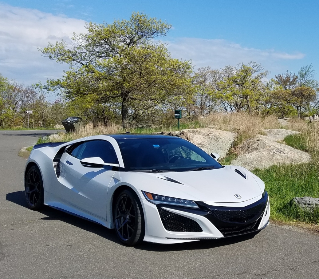2019 Acura NSX in White