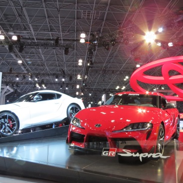 Toyota GR Supra NYIAS 2019 Display