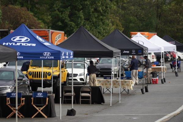 Automotive Rally Tents