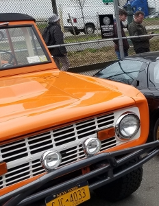 Bronco at Classic Car Club NYC