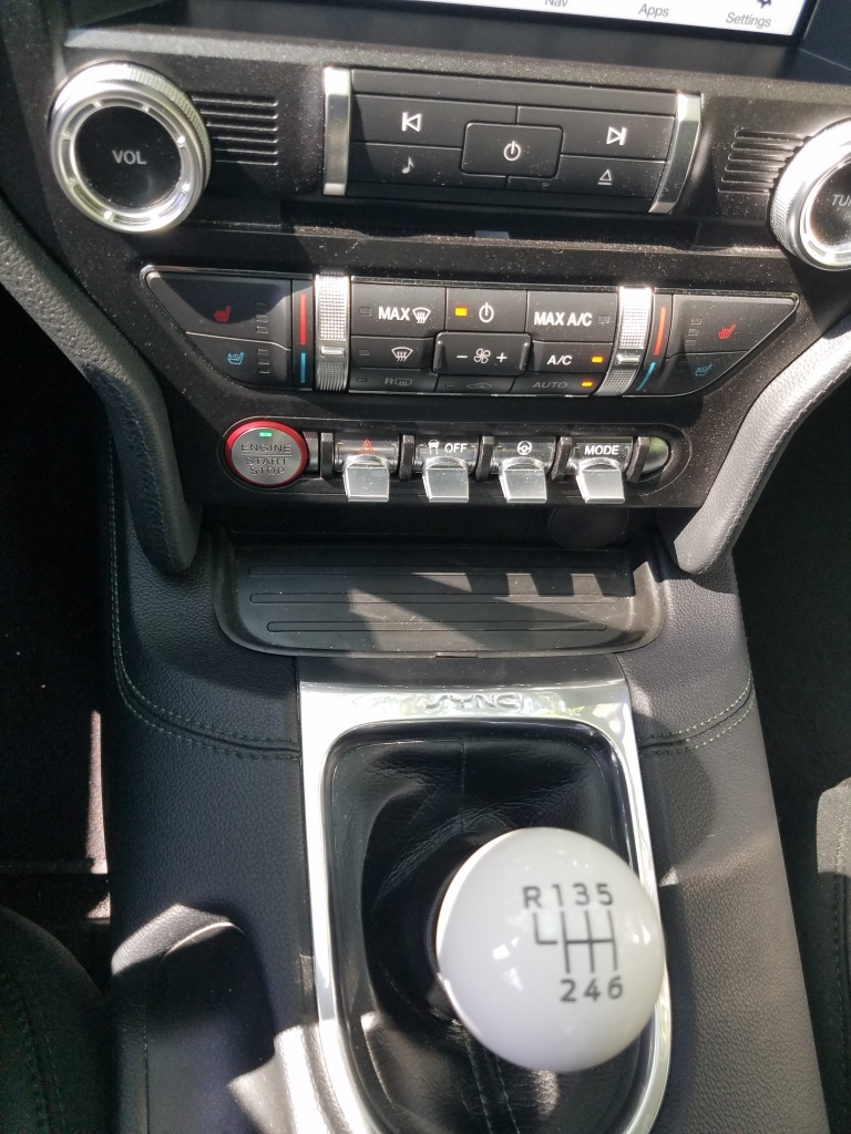 2019 Ford Mustang Bullitt Center Console Switches