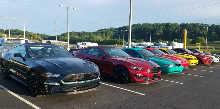 Mustangs in lineup for American Muscle 2019 at Morgantown Holiday Inn Hotel