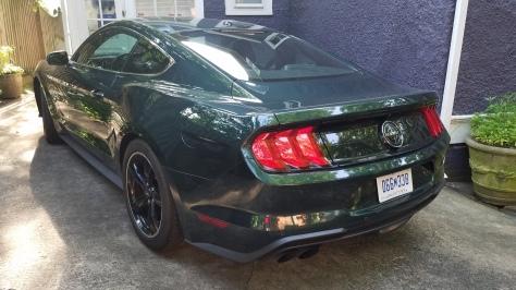 2019 Mustang Bullitt MP002 Rear