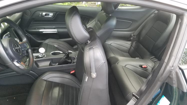 2019 Ford Mustang Bullitt MP002 Interior