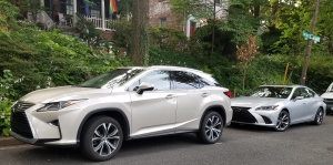Lexus RX 350 and ES 350 F Sport