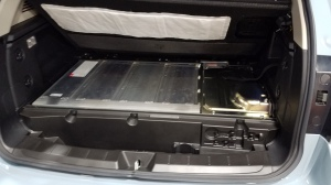Subaru Crosstrek PHEV Battery under the rear cargo floor
